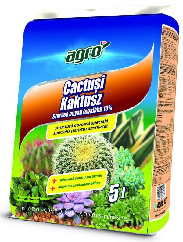 AgroCs kaktusz virágföld