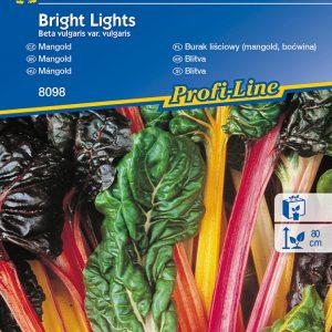 Mángold Bright Lights fajta vetőmag