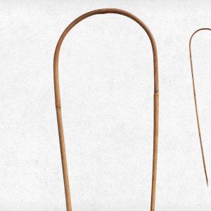 Ívelt bambusz karó