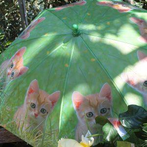 Kiscicás gyermek esernyő