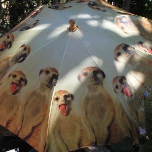 Szafari mintás gyermek esernyő